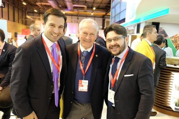 Eduardo Zorzanello, Abdon e Gilson Lira, Diretor de Inteligência Competitiva e Promoção Turística do Embratur (1)
