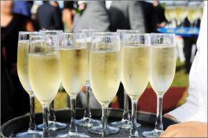 champagne-dienblad